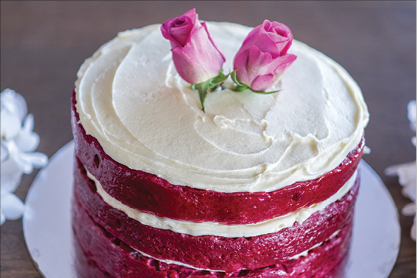 Red Velvet Cake - Naked or plain